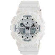 Casio G-Shock Analog-Digital White Dial Mens Watch-GA-100CG-7ADR (G720)
