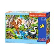 Castorland Pussel - Skogens djur 260 Bitar