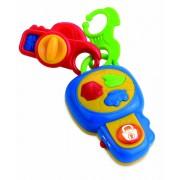 Jucarie interactiva penru bebelusi Prima mea cheie, sunete si lumini