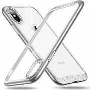 ESR iPhone X bumper met transparant achterkant zilver