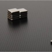 Magnet Puternic în Formă de Pătrat (10 x 2 mm)