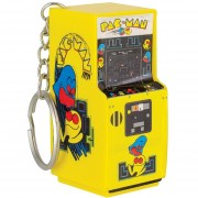 Llavero Pacman Arcade Keyring Producto Oficial En forma de maquinita