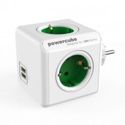 Priza multipla Powercube cu 4 prize + 2 USB