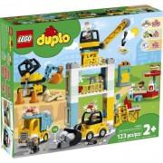 LEGO DUPLO 10933 La grúa y el equipo de construcción