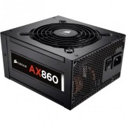 Захранване corsair professional platinum series, ax860 atx, eps12v, fully modular psu, eu version - cp-9020044-eu
