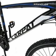 Bicicleta Mtb-Ht 29 Carpat Wrangler C2955B cadru aluminiu culoare negrualbastru