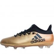 adidas X 17.2 FG Tactile Gold Metallic/Black/Solar Red