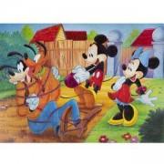 Двулицев макси пъзел - Мики Маус и приятели, LISCIANI GIOCHI, 8008324037247