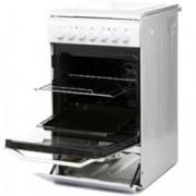 Готварска печка Indesit I5E52E(W)/KZ, 57 л. обем на фурната, 5 функции, 4 бързонагряващи, бяла