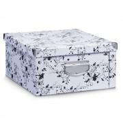 ZELLER Box pro skladování, 40x33x17 cm, barva bílá, ZELLER