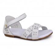 Sandale fetite BIBI Baby Birk Albe
