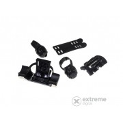 Set Led Lenser LL-0404 XEO pentru fixare pe bicileta, 2 parti