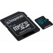 Card de memorie Kingston microSDHC 32GB clasa 10 UHS-I R/W 45/10 adaptor SD