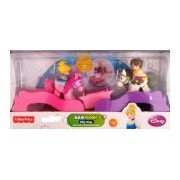 Fisher-Price, Little People, Klip Klop, Cinderella & Prince Charming
