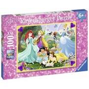Puzzle Printesele Disney, 100 piese