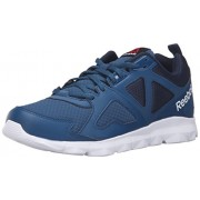 Reebok Men's Dashhex TR L MT Cross-Trainer Shoe, Noble Blue/Collegiate Navy/Black/White, 8 M US