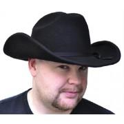 Cowboy Hat Black Felt Large
