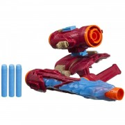 Hasbro - Equipo De Combate Iron Man Los Vengadores: Assembler Gear