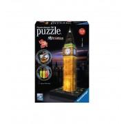 Puzzle 3d Big Ben con Luz - Ravensburger