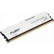 Memorie HyperX Fury White 8GB DDR3 1600 MHz CL10