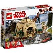 Set de constructie LEGO Star Wars Coliba lui Yoda