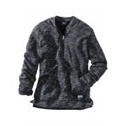 bpc bonprix collection Melerad sweatshirt med baseballkrage