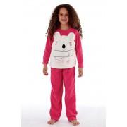 Pijama fetite Bear, material calduros
