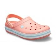 Crocs Crocband™ Klompen Unisex Melon / Ice Blue 38