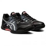 ASICS Gel-Rocket 9 Zapatillas de voleibol para hombre, Negro/Rojo amanecer, 13 US