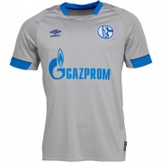Umbro S04 FC Schalke 04 Away Grey/Royal Blue