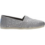 TOMS Femeile slip-on Slvr Fiol Snow Spots Seasonal Classic 37