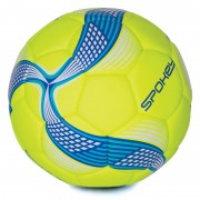 fotbal minge Spokey COSMIC lime-albastru vel.5