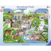 PUZZLE VIZITA LA ZOO, 45 PIESE - RAVENSBURGER (RVSPC06661)