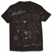 PhD Game of Thrones - T-Shirt Westeros Map