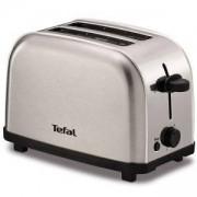 Тостер Tefal TT330D30, 700W, Високо повдигане на филийките, Сребрист