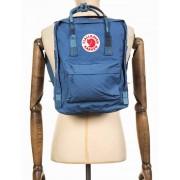 Fjallraven Kanken Classic Backpack - Blue Ridge-Random Blocked Colour: