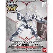 Bandai SD Gundam Cross Silhouette - Cross Silhouette Frame (White)