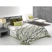 Cuvertura de pat BASTIAN verde, dimensiune 190 cm x 270 cm