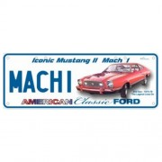 """""""Novelty Number Plate - Ford Mustang II Mach 1"""""""