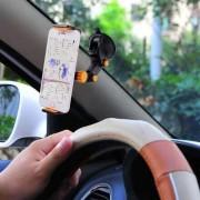 Multifunctionele universele auto Air Vent Mount telefoonhouder, voor iPhone, Samsung, Huawei, Xiaomi, HTC en andere smartphones (zwart)