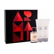 Giorgio Armani Acqua Di Gio Absolu 40Ml Edp 40 Ml + Shower Gel 75 Ml + Aftershave Balm 75 Ml Per Uomo (Eau De Parfum)