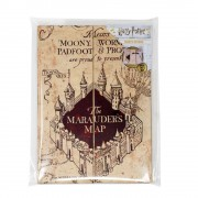 Blue Sky Studios Harry Potter Magnetic Notebook A5 The Marauder's Map