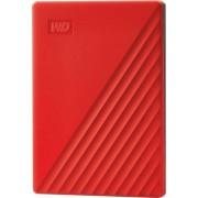 Hard disk extern WD My Passport 2TB USB 3.2 2.5 inch Red