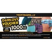 Trenýrkárna Dárkový Voucher 1000 uni