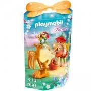 Комплект Плеймобил 9141 - Момиче фея със сърнички, Playmobil, 2900292