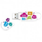 Stick USB 8GB 8GB Xpression Text Mix Integral
