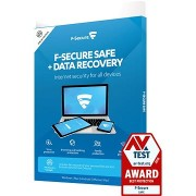 F-Secure SAFE DR 3 készülékhez 1 évre + Data Recovery 1 készülékhez 1 évre (elektronikus licenc)