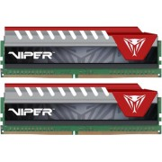 Memorija Patriot V Elite Red 16 GB Kit (2x8 GB) DDR4 2400 MHz, PVE416G240C5KRD