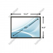 Display Laptop Toshiba SATELLITE A60-762 15 inch
