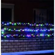 Instalatie luminoasa cu 500 LED-uri lumina statica multicolora lungime 35 m exterior Home